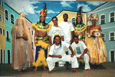 capoeira e deuses afro