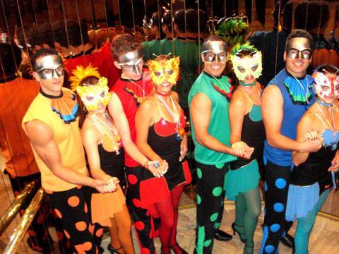 colorido circo