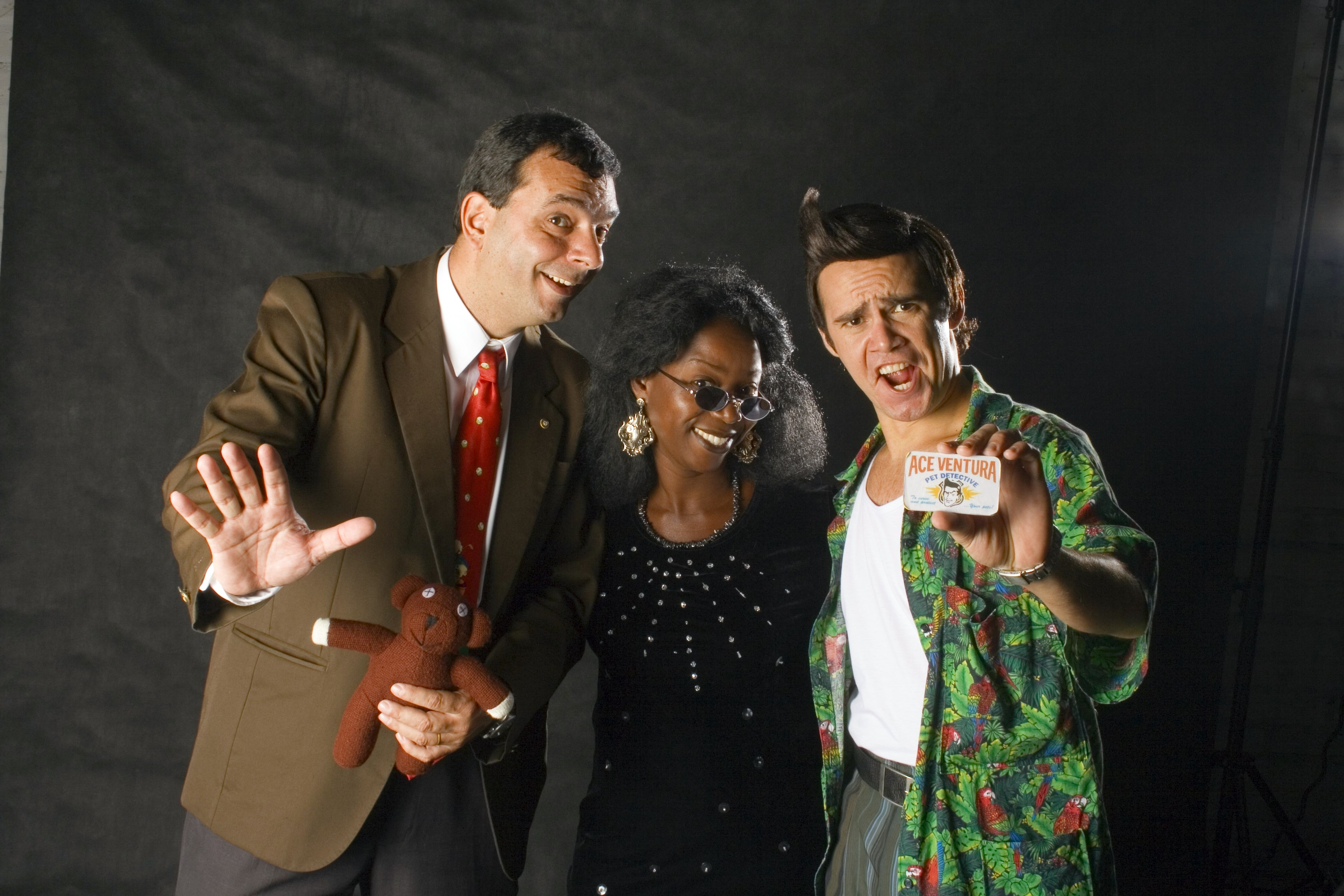mr bean, woopy e j.carrey