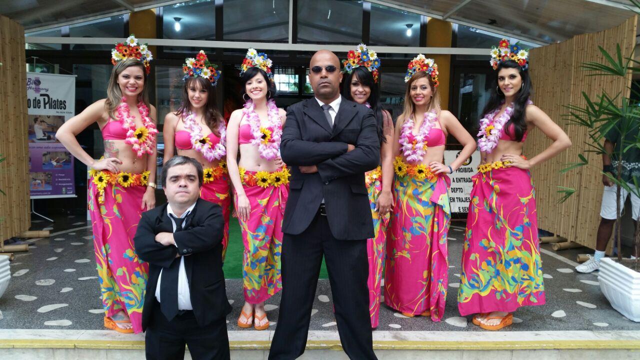 recep seguranças cômicos no havaí